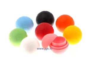 Kleuren onderscheidend met contactlenshouders