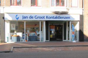 Contactlens controle en screening in Groningen
